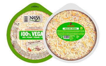 Pizza vegana formato estándar - 27 cm